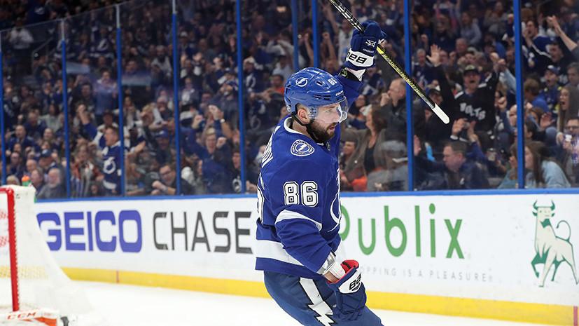 Молниеносный взлёт: как Кучеров возглавил гонку лучших бомбардиров НХЛ