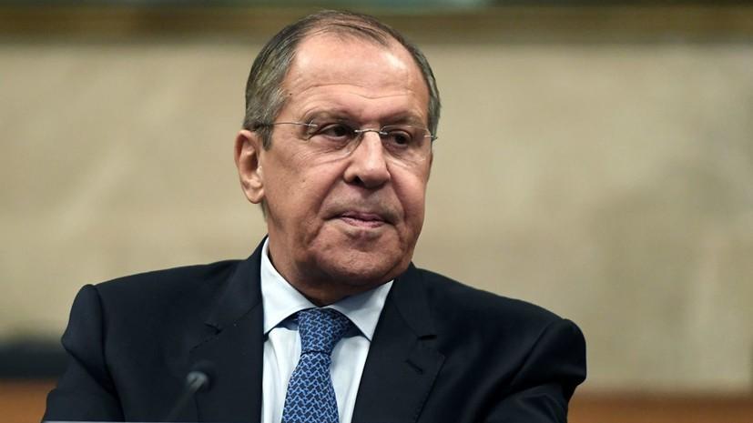 Лавров оценил «алгоритм действий» США в отношении Сирии