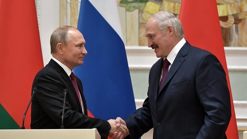 Лукашенко встретится с Путиным 29 декабря в Москве