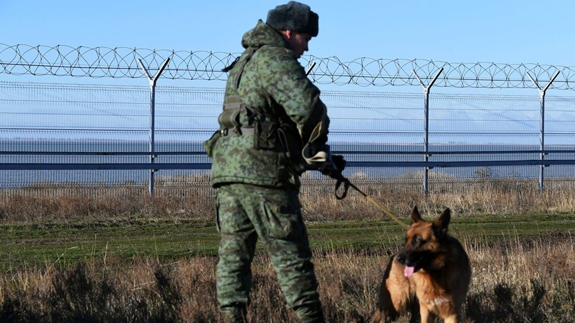 В Совфеде прокомментировали постройку заграждения на границе с Украиной