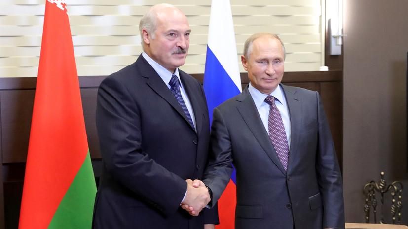 Песков рассказал, что обсудят Путин и Лукашенко на новой встрече