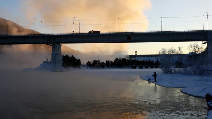Спасатели предупредили о морозах ниже -40 ˚С в Красноярском крае 29 декабря
