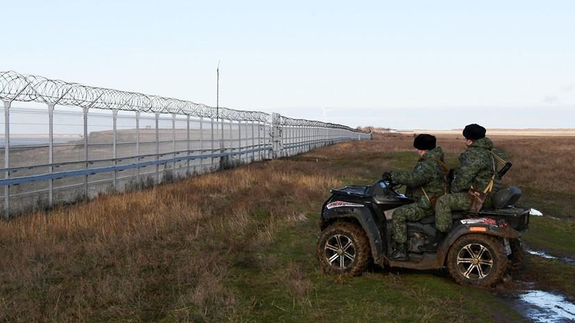 В Киеве отреагировали на постройку в Крыму заграждения на границе с Украиной