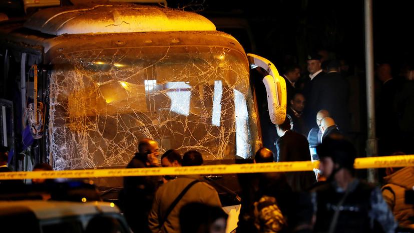Число погибших при взрыве в автобусе в Египте возросло до трёх