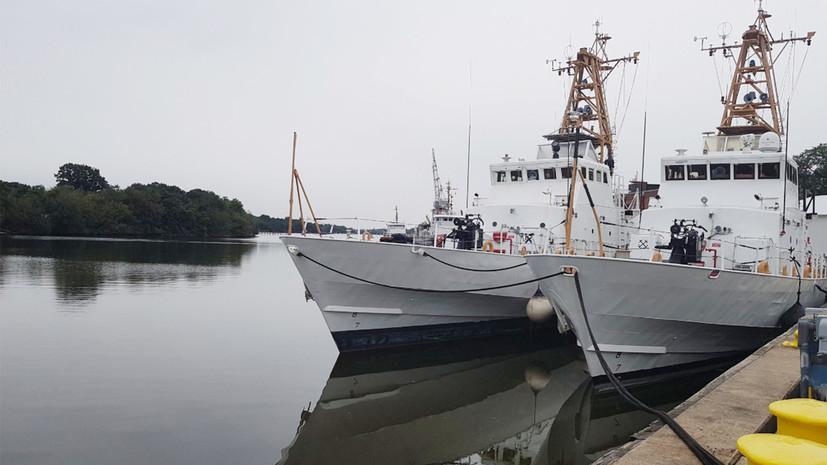 На Украине ожидают получить патрульные катера США в июле 2019 года
