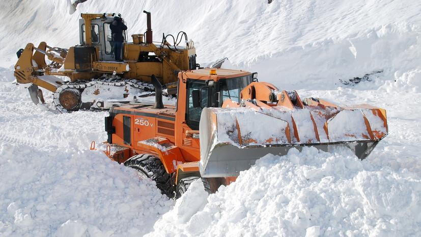 В Николаевском районе Хабаровского края объявили режим ЧС после схода снежной лавины