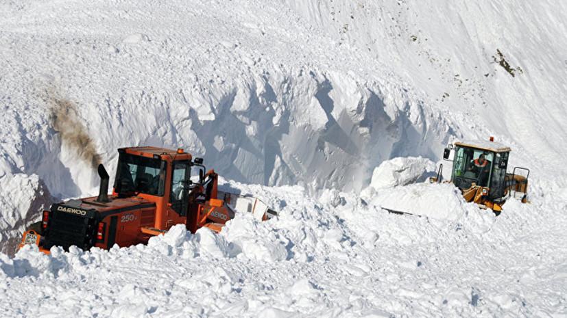 В Хабаровском крае назвали возможную причину схода снежной лавины
