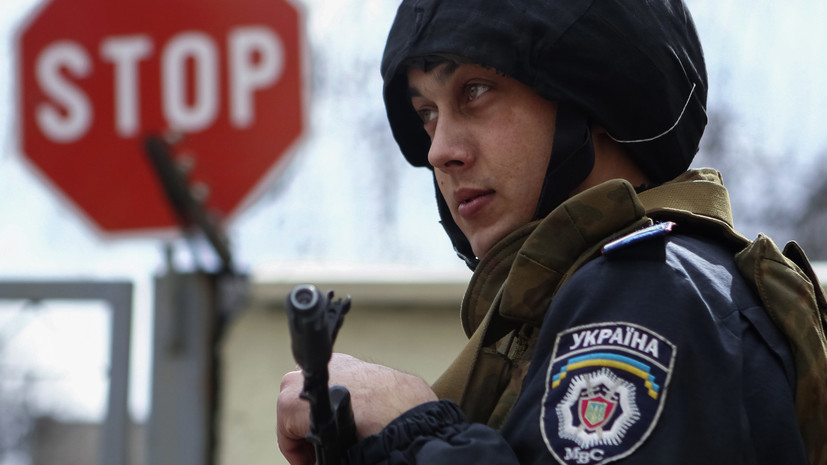 На Украине опровергли данные о снятии запрета на въезд мужчин из России
