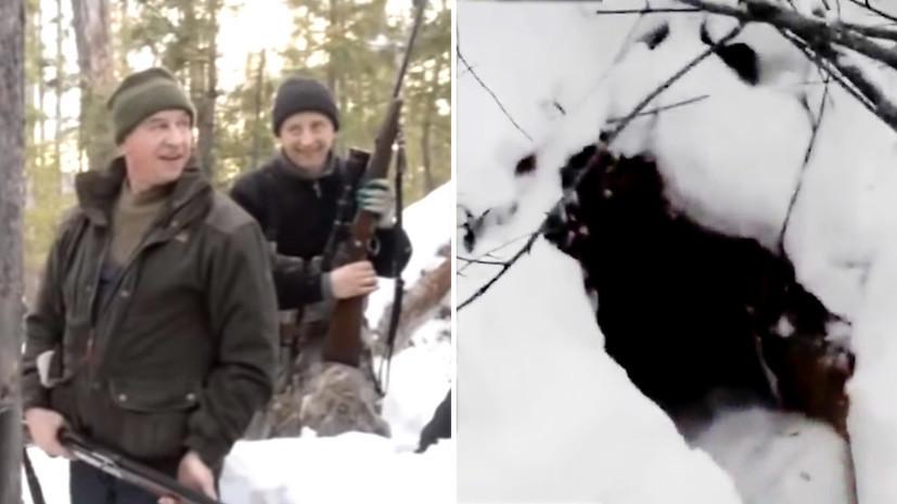 По факту незаконной охоты на медведя в Иркутской области заведено дело