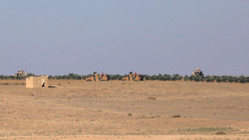 СМИ: Турция стягивает тяжёлую военную технику к границе с Сирией