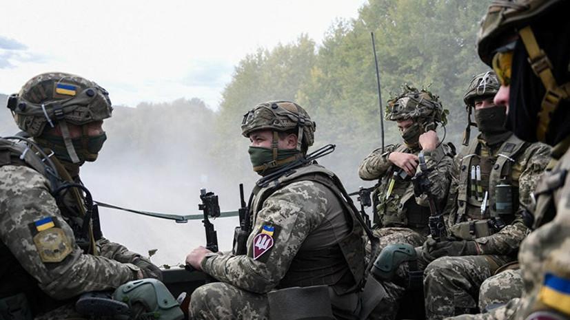 В ДНР обвинили ВСУ в нарушении перемирия