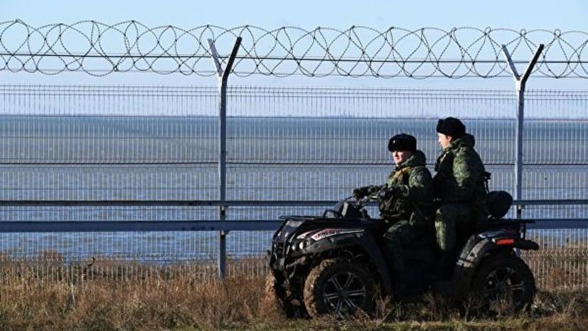 В Совфеде прокомментировали реакцию Украины на постройку в Крыму заграждения на границе