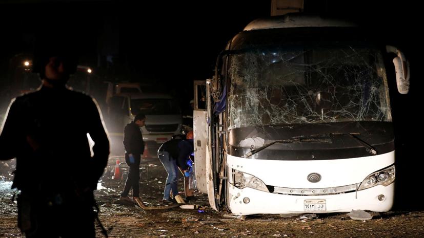 В Российском союзе туриндустрии прокомментировали взрыв автобуса в Каире