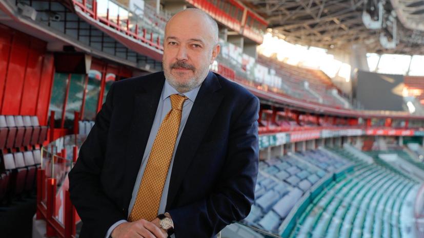 Кикнадзе назначен на должность гендиректора «Локомотива»
