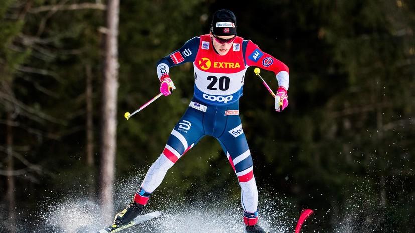 Клебо выиграл спринт свободным стилем на первом этапе «Тур де Ски», Большунов — шестой