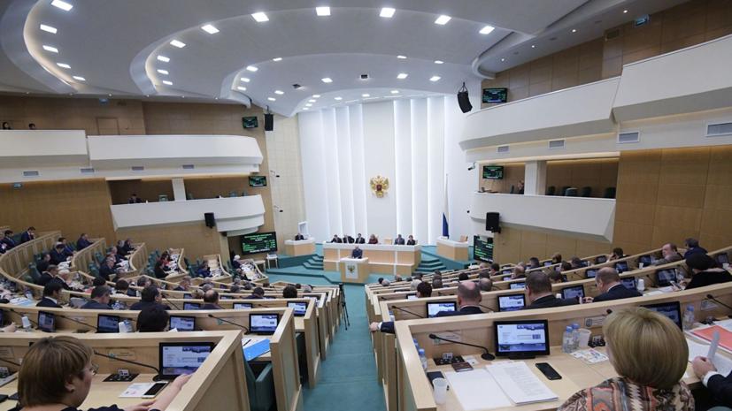 В Совфеде прокомментировали решение России запретить импорт ряда украинских товаров