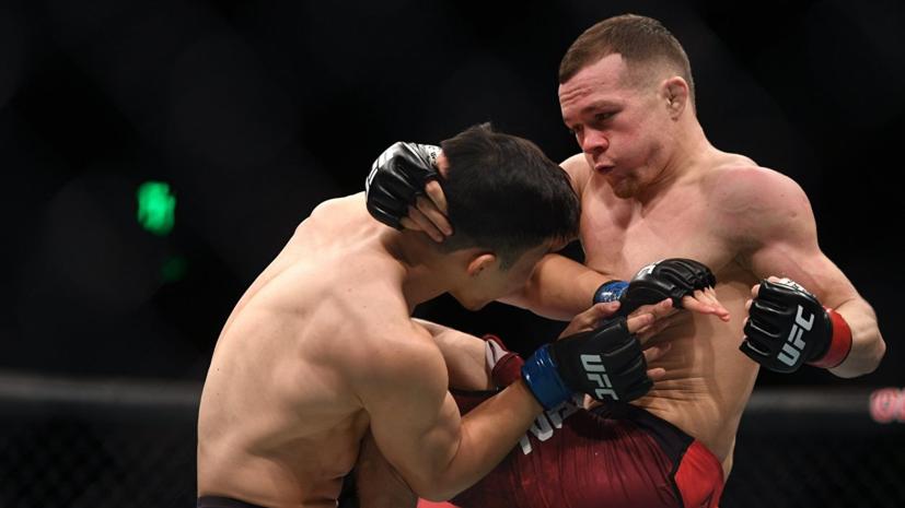 Ян может принять участие в турнире UFC в России в 2019 году