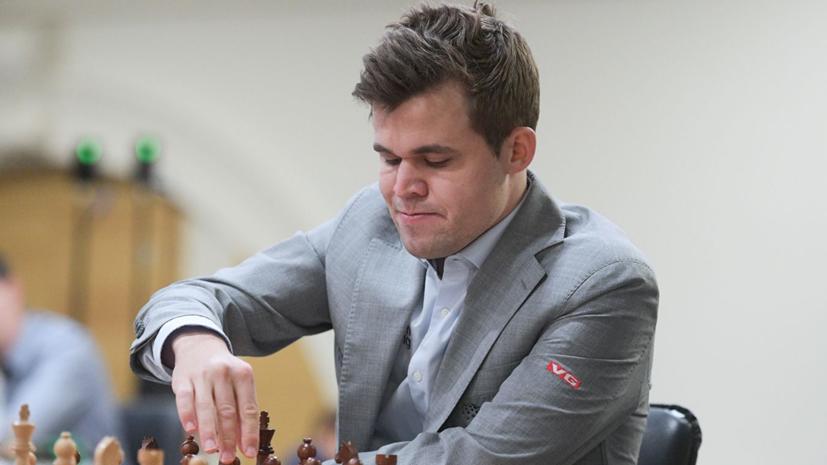 Карлсен продолжает лидировать после 16 туров на ЧМ по блицу
