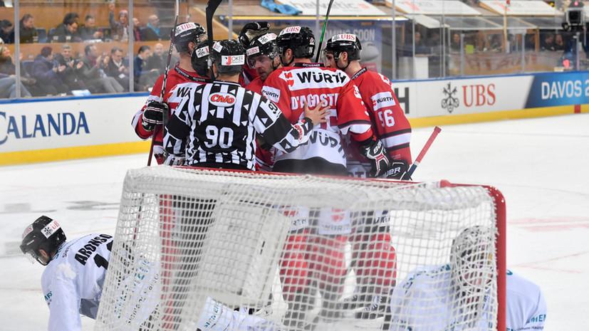 Финский «КалПа» и команда Канады пробились в финал Кубка Шпенглера
