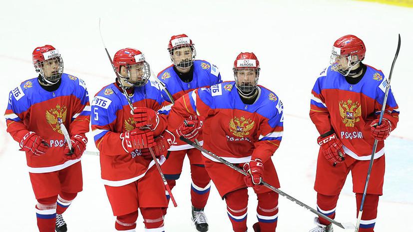 Главный тренер молодёжной сборной России по хоккею считает Канаду главным фаворитом МЧМ-2019