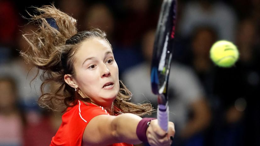 Касаткина проиграла Биррелл в первом круге турнира WTA в Брисбене
