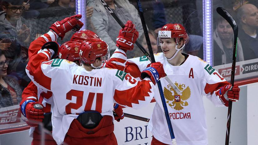 Жест Дзюбы, семь шайб и волевая победа: как сборная России по хоккею обыграла Швейцарию на МЧМ-2019