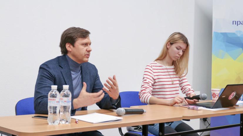 Первый кандидат в президенты подал документы в ЦИК Украины