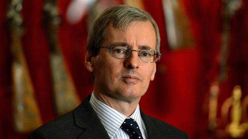 Посол Британии по-русски поздравил россиян с Новым годом