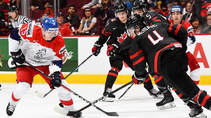 Защитник сборной Канады пропустит матч с Россией из-за дисквалификации