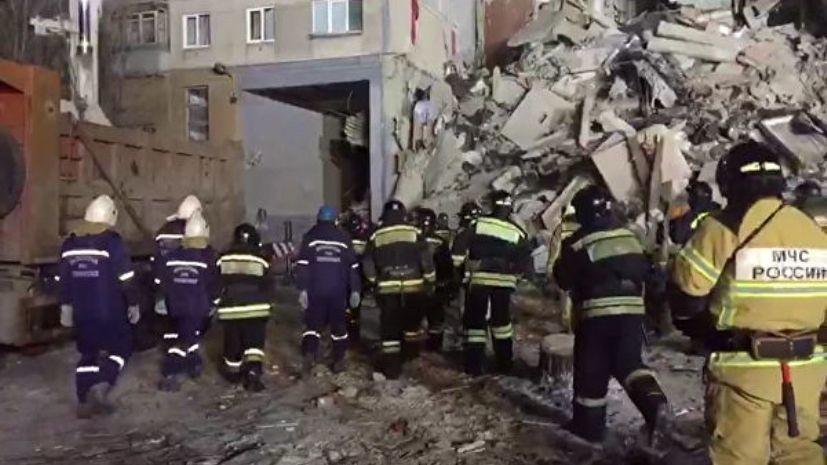 Работы на месте ЧП в Магнитогорске будут продолжаться не менее двух суток