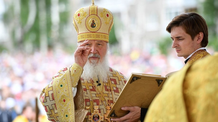 Патриарх Кирилл призвал прихожан верить в добро