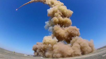Испытания противоракеты 53Т6М на полигоне Сары-Шаган