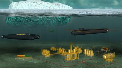Проект безэкипажной подводной станции