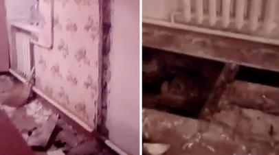 В Сибири от сироты требуют оплатить ремонт обрушившейся стены в муниципальной квартире