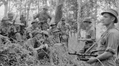 Английские войска в Британской Малайе