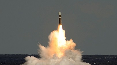 Американская ракета Trident