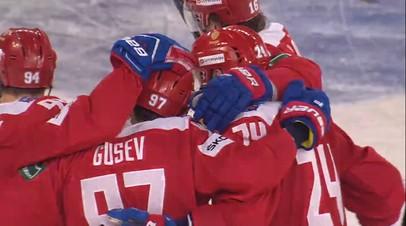 Главный тренер сборной России по хоккею рассказал о состоянии Капризова после матча с Чехией