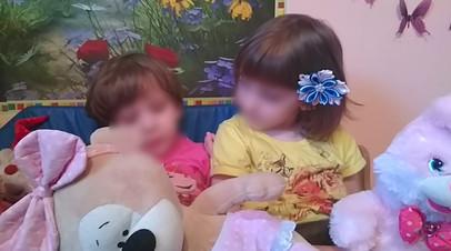 Семья на Алтае, воспитывающая сиамских близнецов, получила помощь от властей края