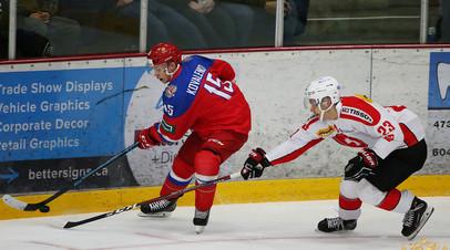 Контрольный матч молодёжной сборной России со Швейцарией