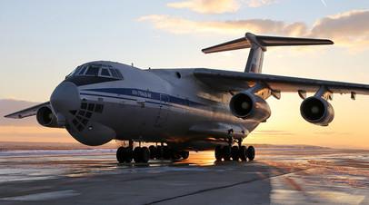 Военно-транспортный самолёт Ил-76МД-М