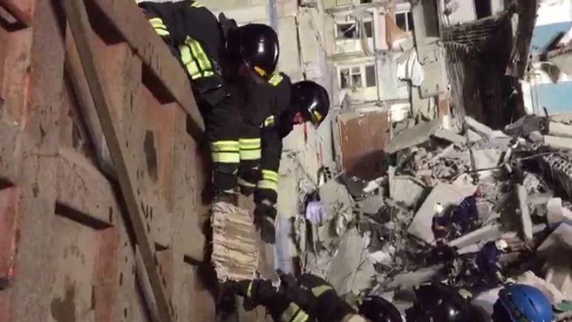 Нависающие конструкции на месте ЧП в Магнитогорске демонтируют
