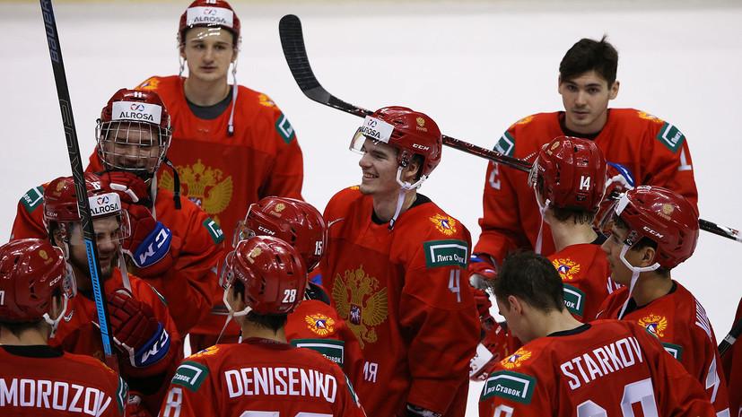Стало известно время начала матча Россия — Словакия в четвертьфинале МЧМ-2019