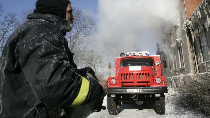 Один человек погиб в результате пожара в Риге