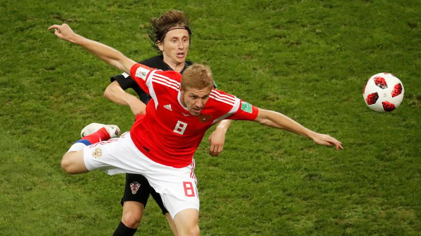 Футболисты сборной России поздравили жителей страны с Новым годом