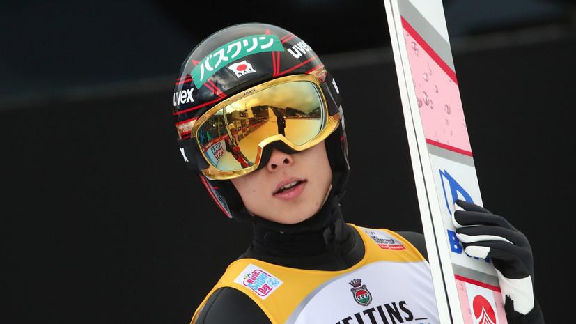 Кобаяси во второй раз выиграл этап «Турне четырёх трамплинов», Климов — 16-й