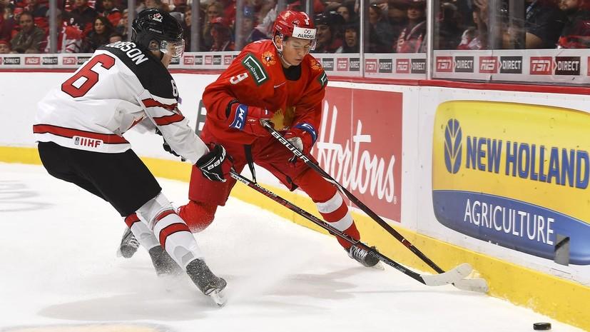 Канадские журналисты рассказали о шоке после поражения от России в матче МЧМ