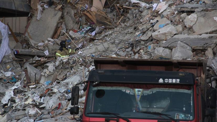 Поиск 27 человек продолжается после обрушения в Магнитогорске