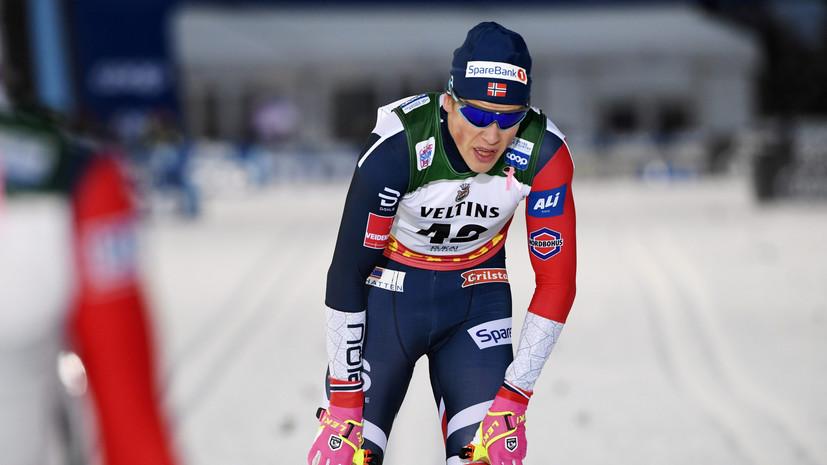 Дед лыжника Клебо может снять его с «Тур де Ски»
