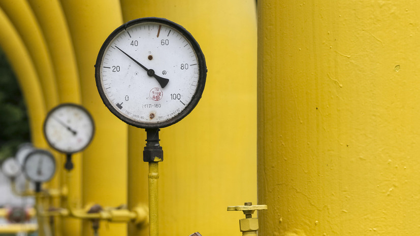 Украина в 2018 году сократила транзит газа на 7,1%