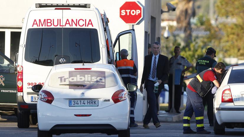 Четыре человека пострадали в результате ЧП с поездом в Каталонии